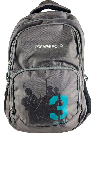 Escape Polo Sırt Çanta Gri